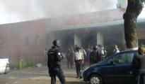 Imagen del centro de reclusión donde se ha producido el mortal incendio - TWITTER