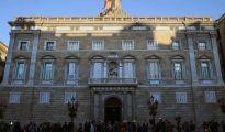 Exterior del Palau de la Generalitat.