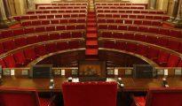 El Parlamento de Cataluña.