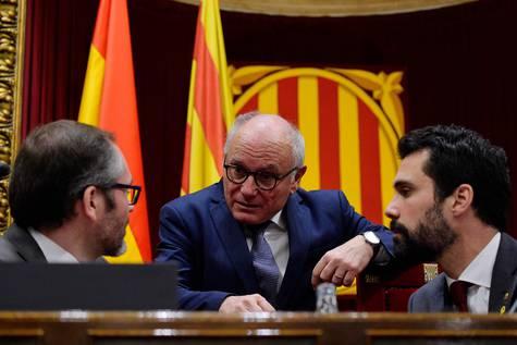 Pleno de este jueves en el Parlamento de Cataluña