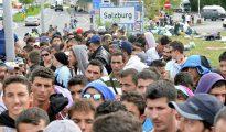 Refugiados musulmanes en Austria.
