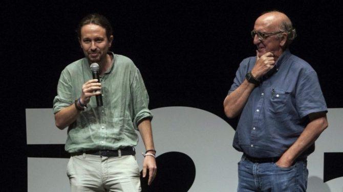 Jaume Roures y Pablo Iglesias, dos títeres del globalismo.