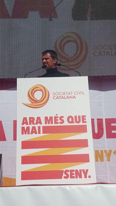 El exprimer ministro socialista francés Manuel Valls