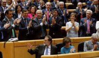 La sesión del Senado para debatir y votar el artículo 155