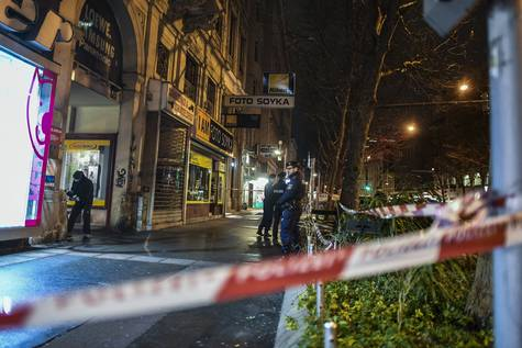 Lugar donde se produjo uno de los ataques.