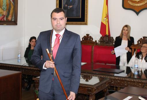 El alcalde de Priego en su toma de posesión