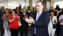 Agustín Navarro, tras ser elegido alcalde de Benidorm en 2009