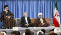 El ayatolá Alí Jameini, este sábado en Teherán.