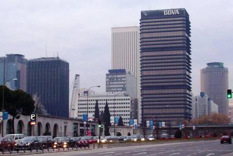 La menor fue localizada en la zona de Azca, en Madrid.