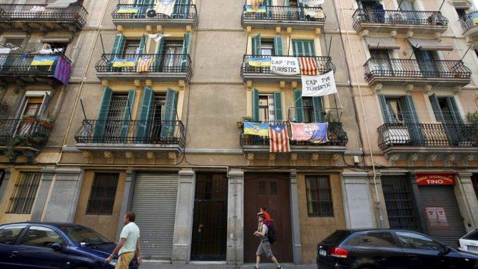 Pisos ilegales en Barcelona.