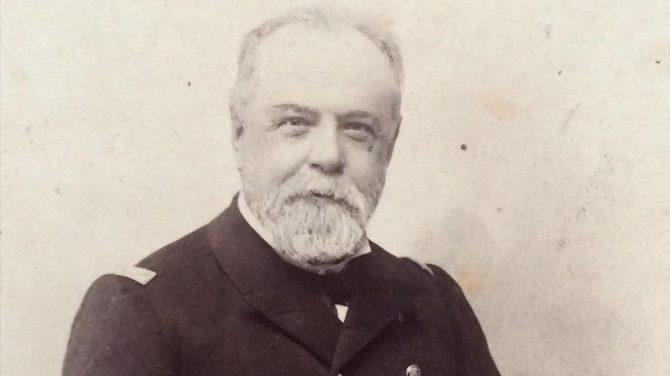 El almirante Cervera.