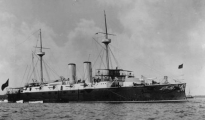 El crucero Infanta María Teresa.