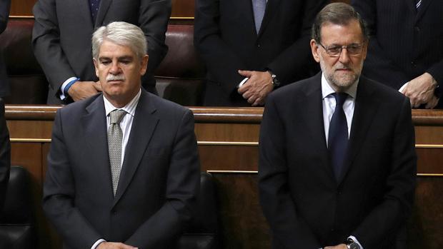 Dastis y Rajoy.