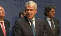 El ministro de Asuntos Exteriores y de Cooperación, Alfonso Dastis