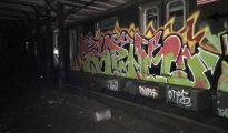 Grafiti en el metro de Nueva York