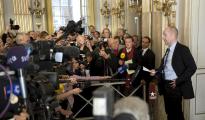 Peter Englund anuncia el Nobel de Literatura en 2009 - EPA