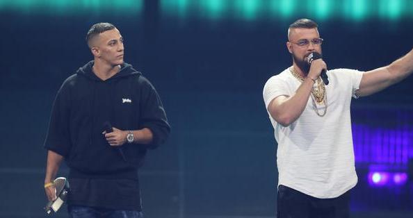 Los raperos alemanes Farid Bang y Kollegah