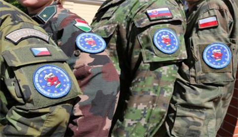 Militares del grupo de Visegrado.