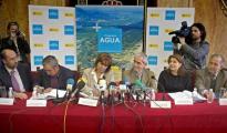 Cristina Narbona, entonces ministra de Medio Ambiente, en un acto del Programa Agua