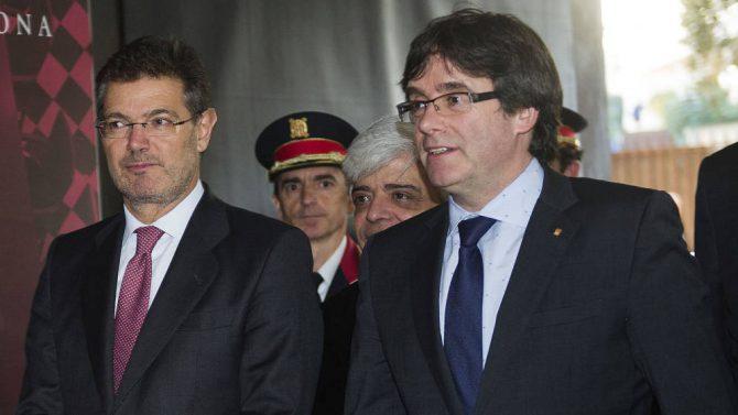 Catalá y Puigdemont.
