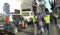 Imagen distribuida por la Policía de la detención en Lanzarote de Silvia Celestín.