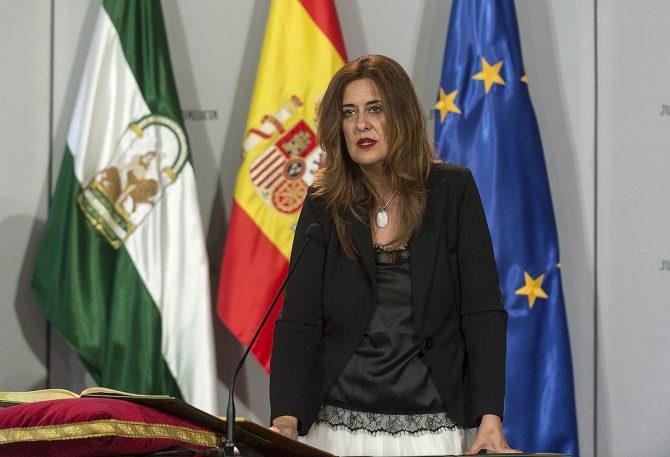 Sonia Gaya, consejera de Educación de la Junta de Andalucía