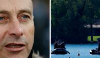 Eric Geboers se ahogó en un lago en el norte de Bélgica