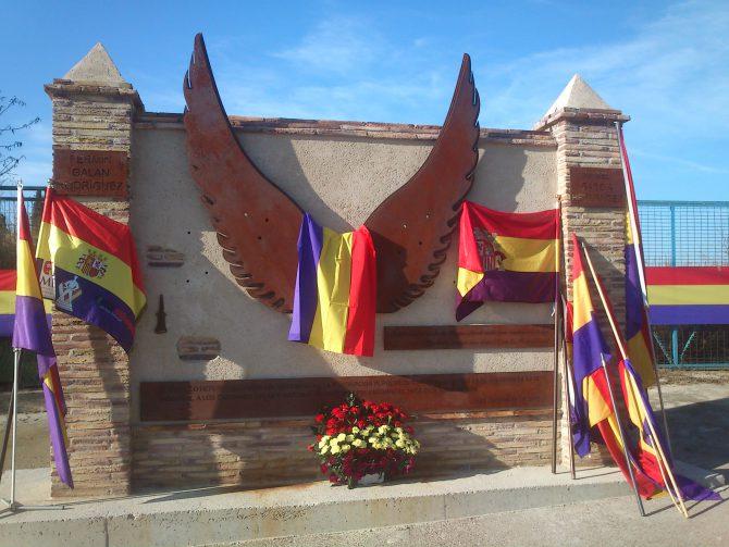 Monumento a Galán y García Hernández en Jaca