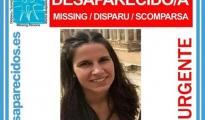 Imagen de la mujer desaparecida y hallada muerta, Leticia Rosino - SOSDESAPARECIDOS