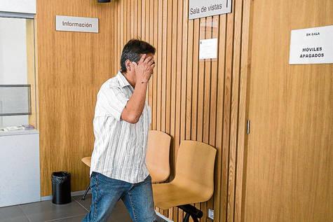 Josué Vinicio Morales Burbano, en la Audiencia Provincial de Zaragoza.