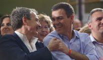 Zapatero y Sánchez.