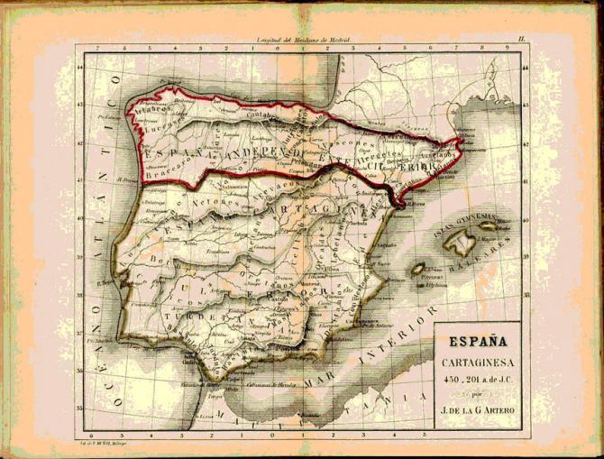 España Cartaginesa 450-201 a.J.C.