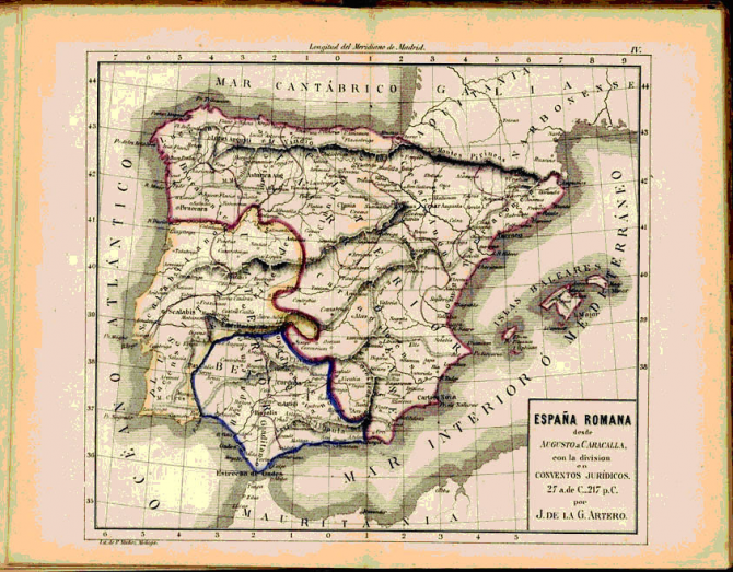 España desde Augusto a Caracalla
