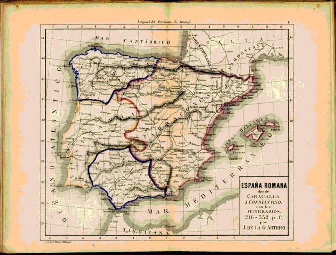 España Romana hasta Constantino.