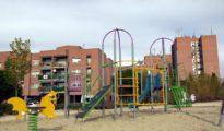 Parque infantil de la avenida Covibar, lugar donde se produjo el tiroteo.