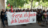 Los estudiantes, en la Universidad de Barcelona (ABC)