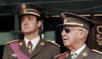 Franco y el entonces príncipe Juan Carlos.