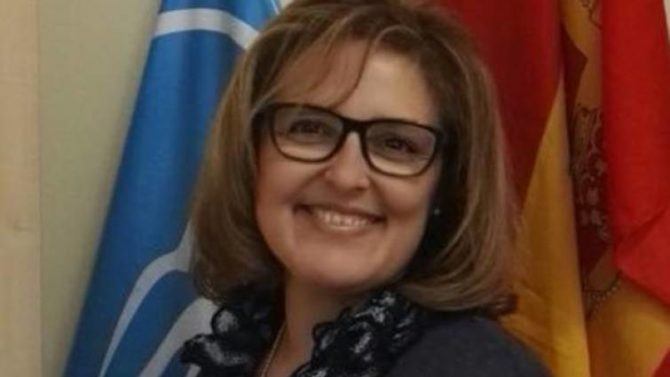 La edil del PP en Pinto, Rosa María Ganso