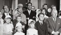 """Fotograma de """"La gran familia"""", arquetipo de la salud moral de los españoles en la España franquista."""