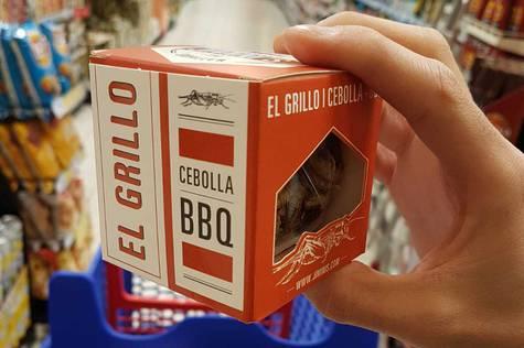 En algunas grandes superficies españolas ya es posible encontrar alimentos hechos con insectos.
