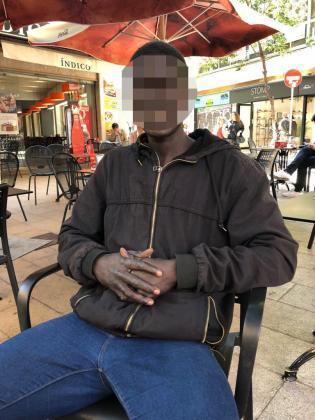Imagen del detenido.
