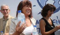 Narbona, en 2007, en un acto promocional de agua desalada
