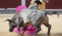 Octavio Chacón lidió fenomenal a los toros