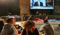 TV3 en directo en Plaza Cataluña