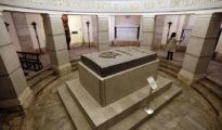La cripta del Monumento a los Caídos donde se encontraba enterrado José Sanjurjo.