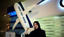 Dalia Yashar, una de las primeras estudiantes de la escuela para convertirse en piloto comercial
