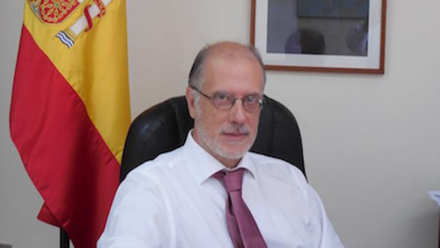Foto oficial del embajador de España en Managua, Rafael Garranzo