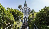 La Iglesia Egami en la isla de Naru