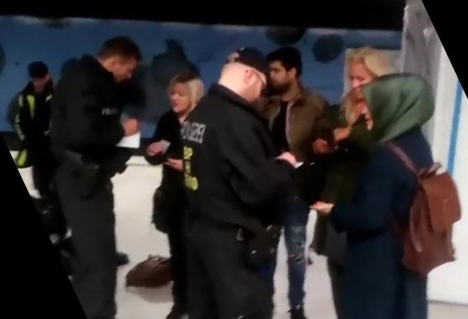 La Policía interroga a los testigos del doble asesinato perpetrado en la estación hamburguesa de metro de Jungfernstieg.