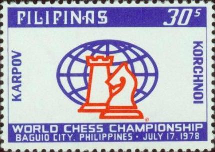 Sello conmemorativo del Mundial de Filipinas